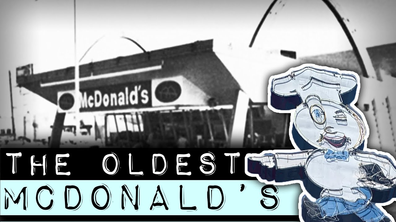 Oldest Operating McDonald's Restaurant In The World #Shorts