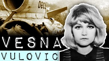 Woman Survived 33,333 Feet Fall From Airplane (Vesna Vulovic Guinness World Records)
